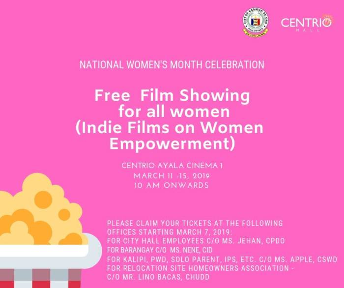 FREE Film Showing for all Women