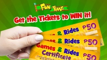 FunTime FREE Games and Rides Cetificates FI