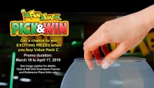 FunTime Pick and Win Promo FI