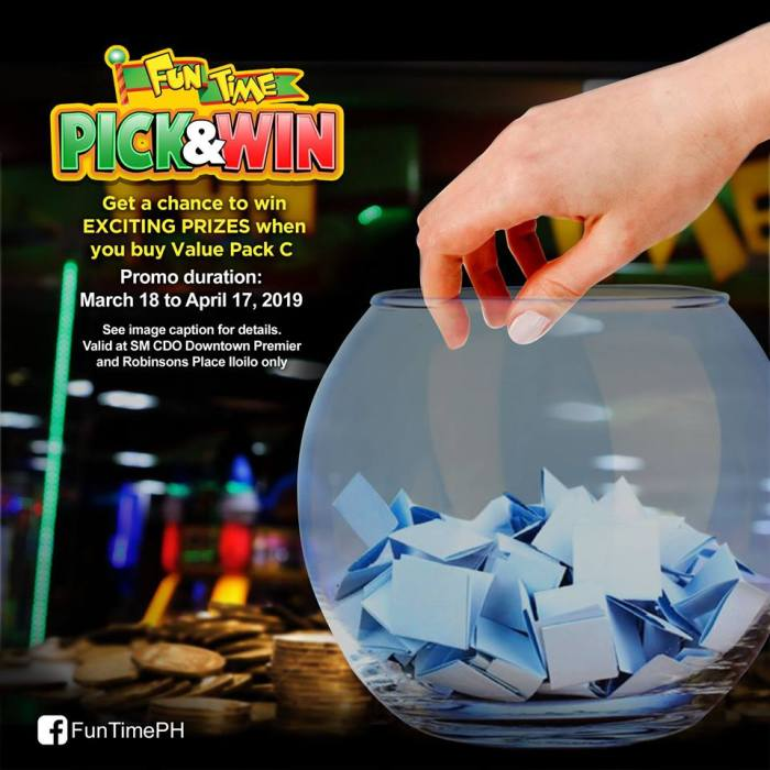 FunTime Pick and Win Promo