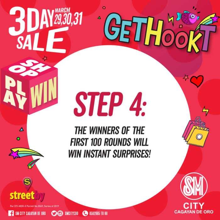 GET HOOKT step4