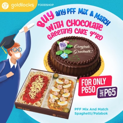 Goldilocks graduation promo