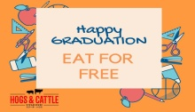 Graduates Eat for FREE at Hogs and Cattle Steakhouse CDO FI2