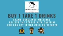 Honeymoo Buy 1 Take 1 Drinks Promo FI