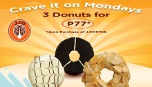 J.Co 3 Donuts for P77 FI