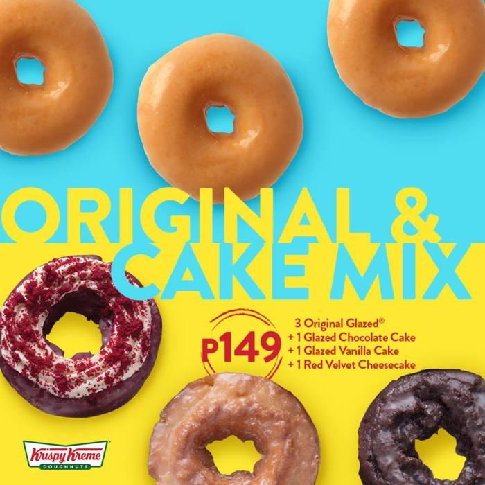 Krispy Kreme Original and Cake Mix