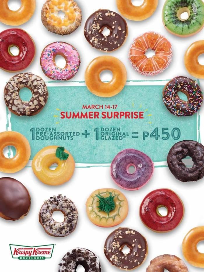 Krispy Kreme Summer Surprise