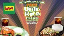 Mang Inasal FREE Unli Rice FI
