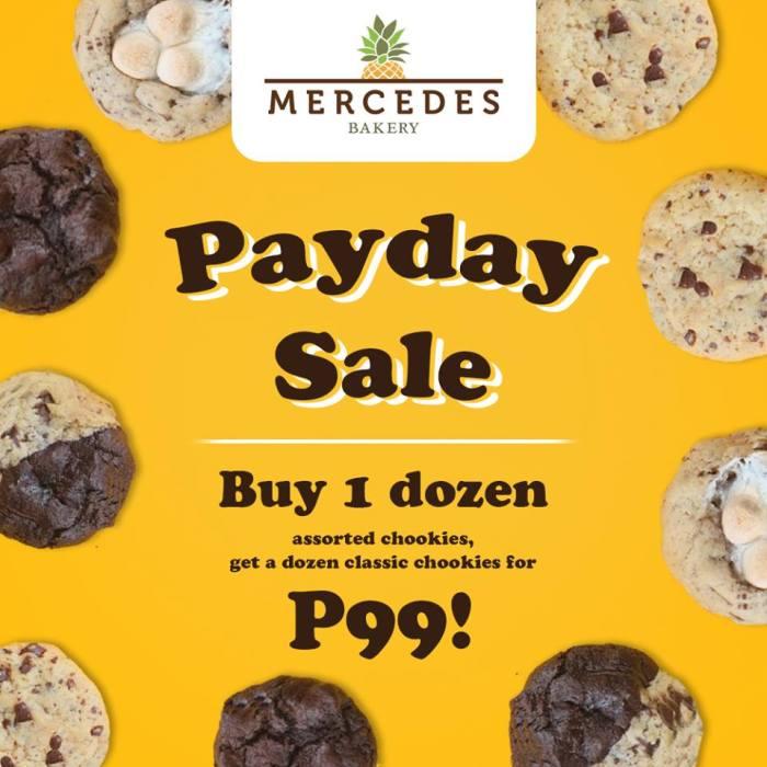 mercedes bakery SM city 3day sale