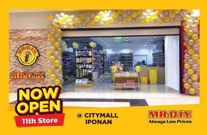 Mr DIY CityMall Iponan opening