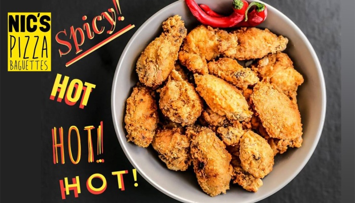 Nics Pizza Baguettes Spicy Fried Chicken Launching Promo FI