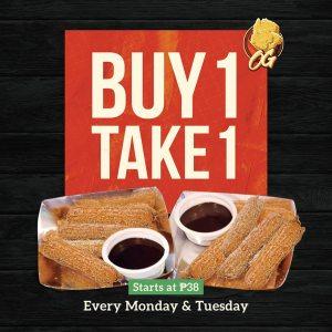 OG Buy 1 Take 1 churros