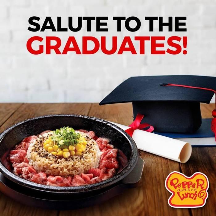 Pepper Lunch Graduation Promo
