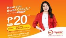 Royal Air Bente Cebu Promo FI
