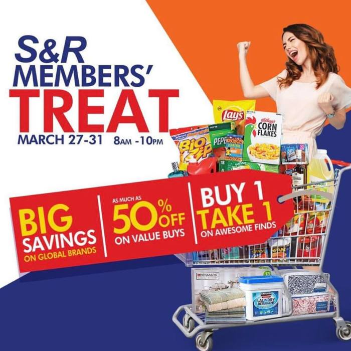 S&R Members' Treat Sq