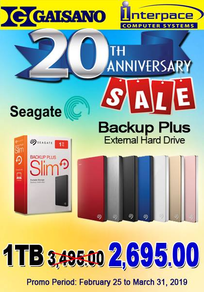 seagate external hard drive 1TB