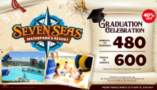 Seven Seas Waterpark Graduation celebration landscape
