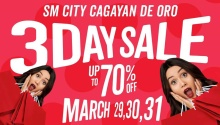 SM City Uptown CDO 3-Day Sale FI
