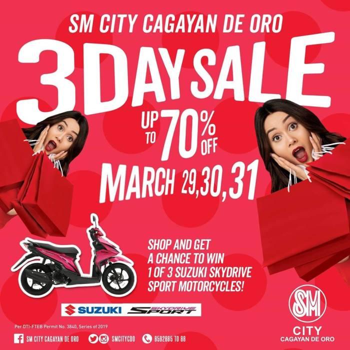 SM City Uptown CDO 3-Day Sale
