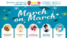 Streetby march on march graduation promo FI