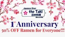taki's diner 1st anniversary FI