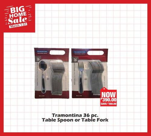 tramontina 36pc table spoon or table fork
