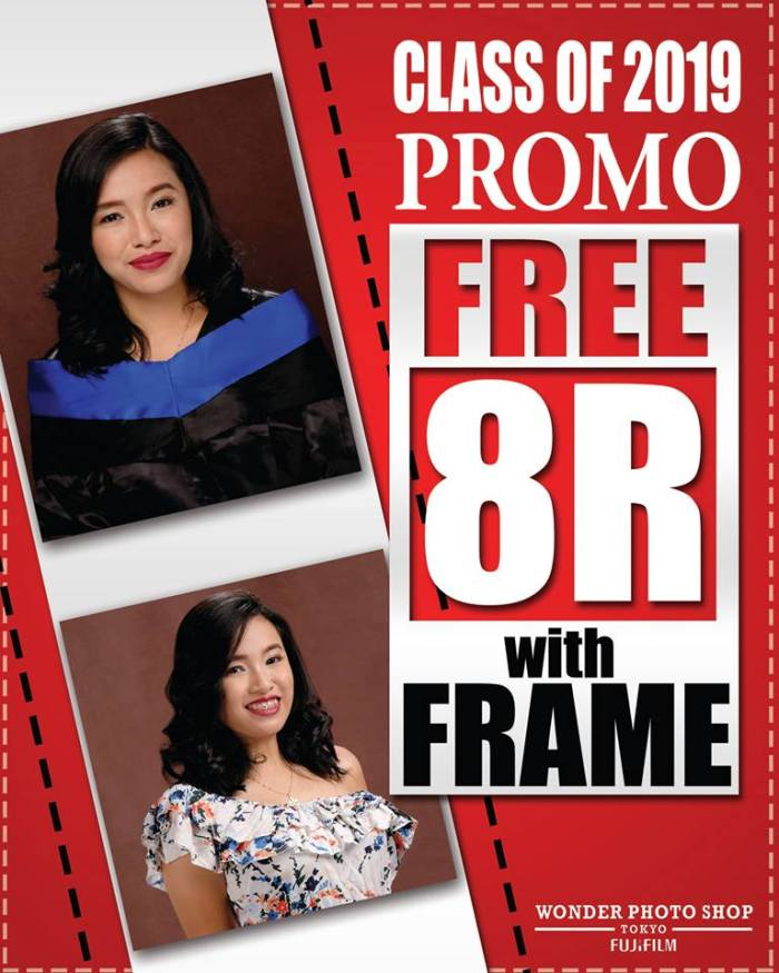 Wonder Photo Shop SM CDO Downtown Premier Free 8R with FRAME