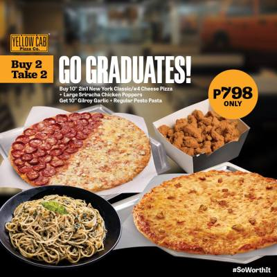 Yellow Cab Buy 2 Take 2 Go Graduates