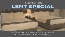 1A Express Hotel Lent Special FI