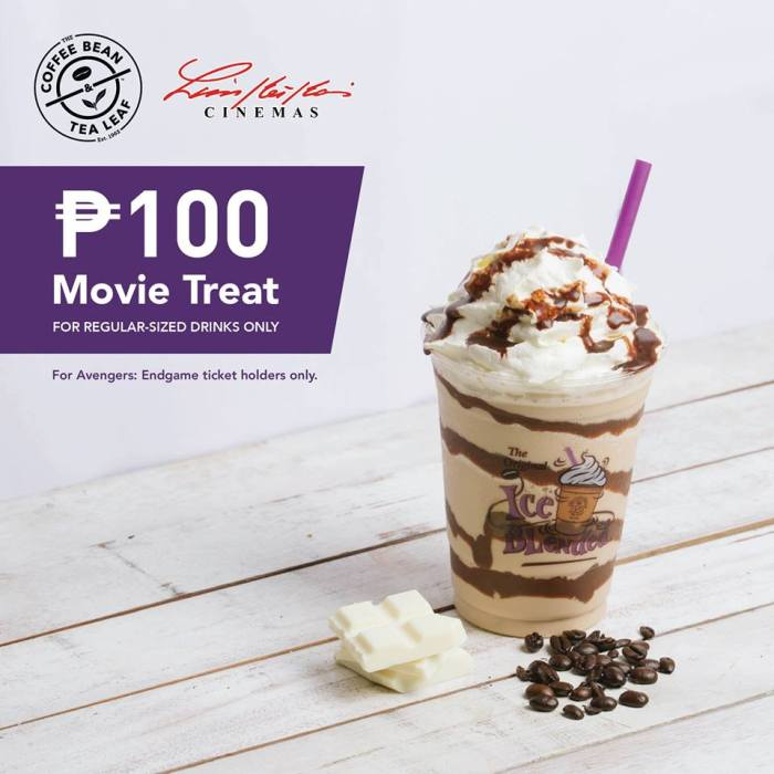 CBTL Limketkai Avengers End Game Movie Treat