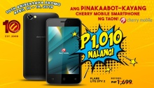 Cherry Mobile Smartphone for P1010 10th Anniversary Promo FI