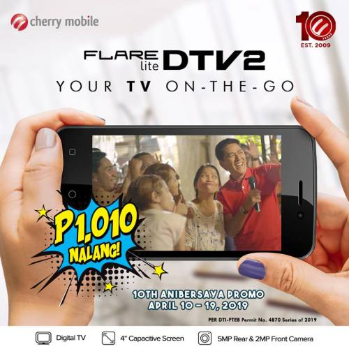 Cherry Mobile Smartphone for P1010 TV on the go