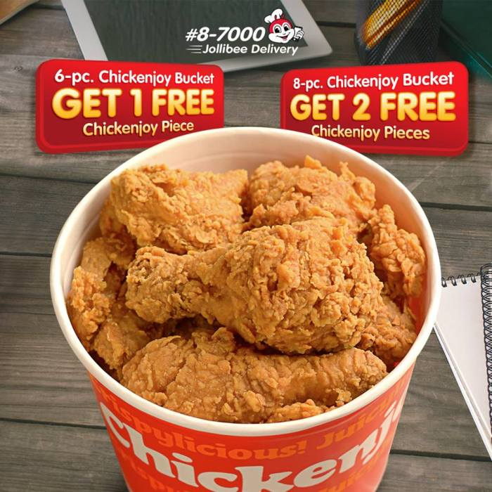 Jollibee Delivericious Deals 6 Plus 1 8 Plus 2 Chickenjoy