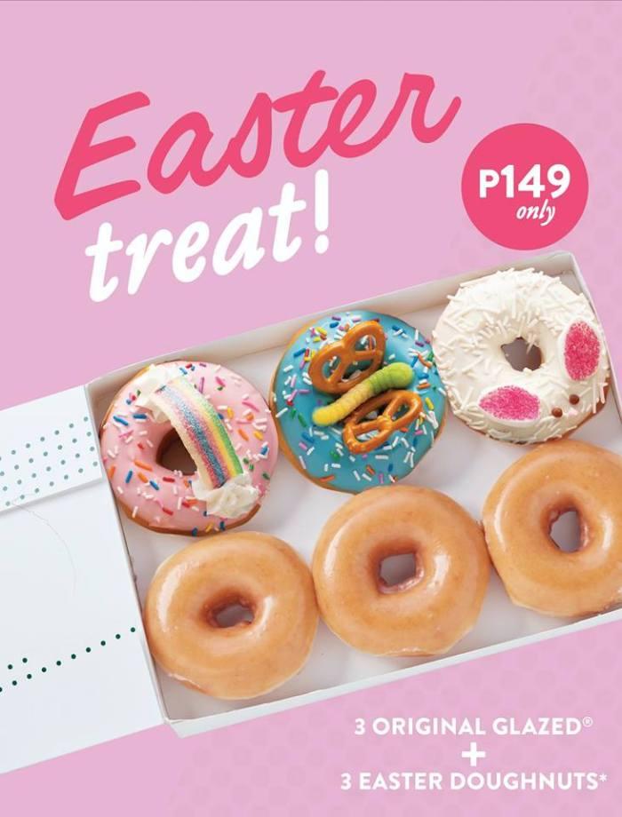 Krispy Kreme Easter Treat