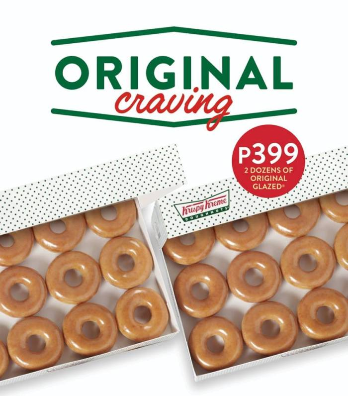 Krispy Kreme Original Craving