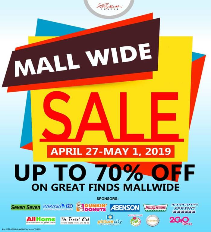Limketkai Mall Wide Sale
