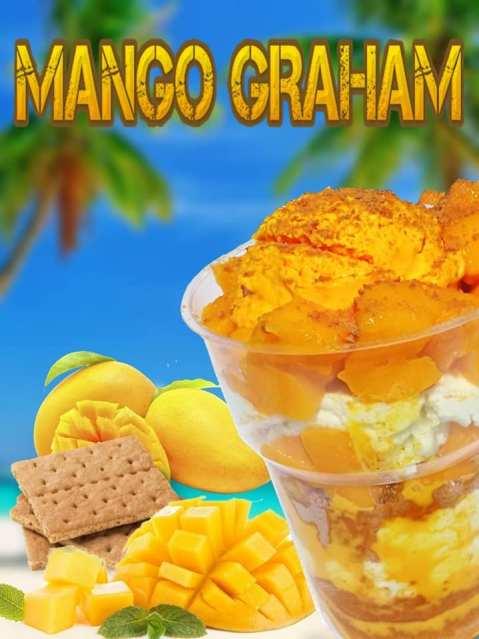 sam's halo halo and ice desserts mango graham bg