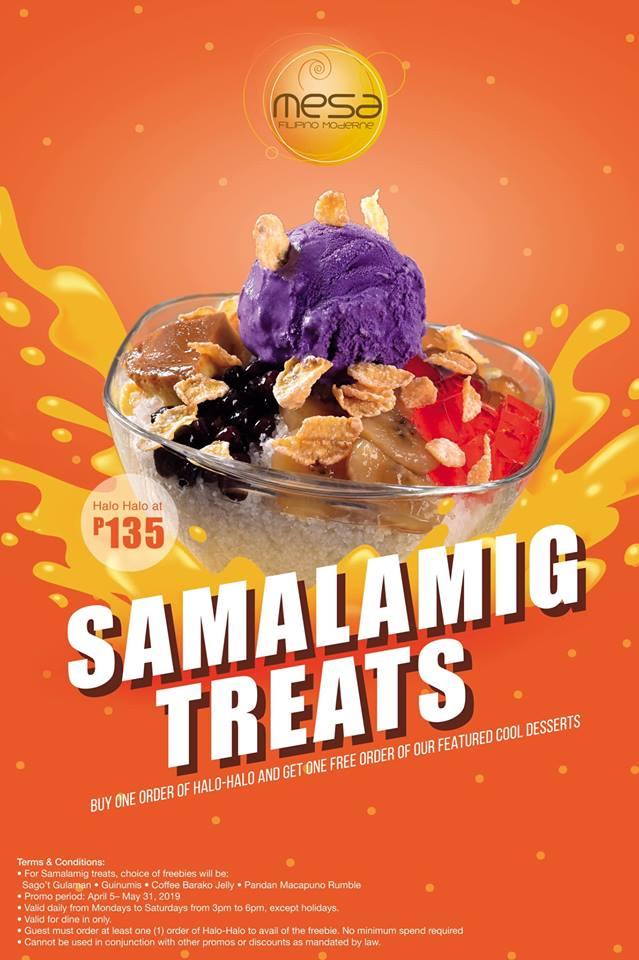 Mesa Samalamig Treats halo-halo