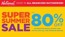 National Book Store Super Summer Sale FI