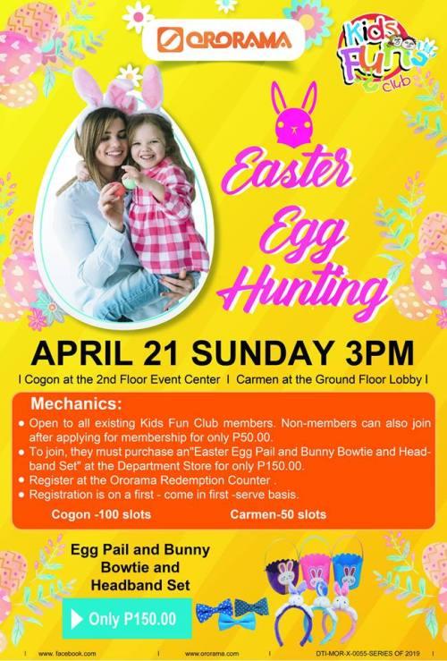 Ororama Easter Egg Hunting