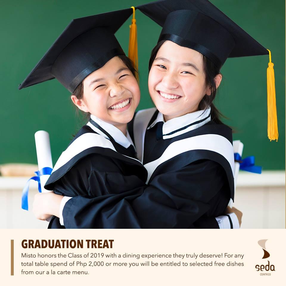 Seda Centrio Graduation Treat