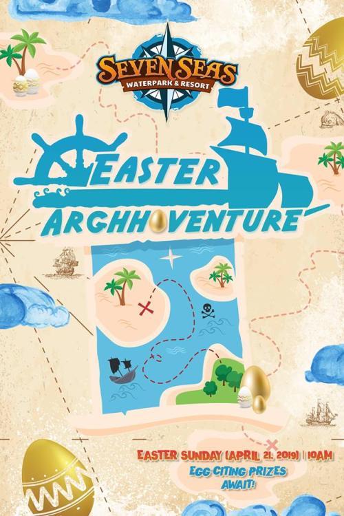 Seven Seas Waterpark Easter Adventure