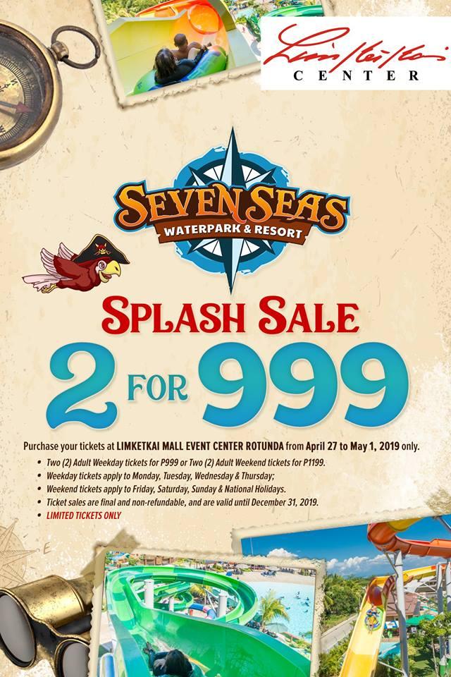 Seven Seas Waterpark Splash Sale