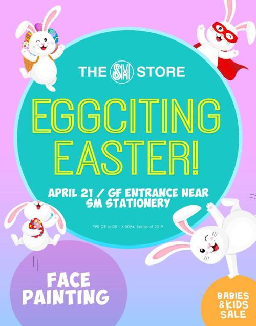 SM Eggciting Easter