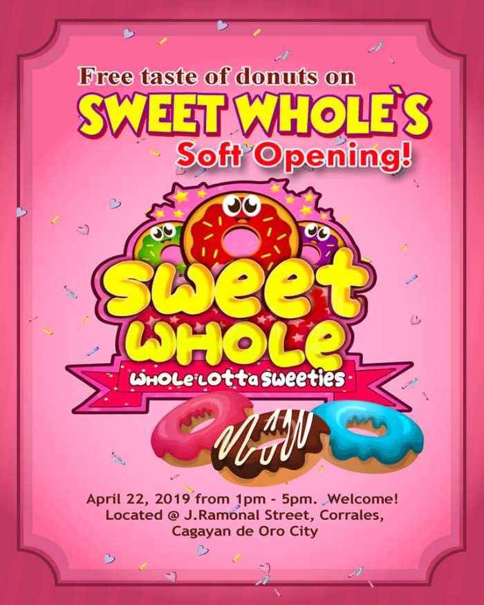 sweet hole soft opening