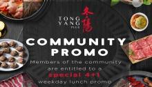 Tong Yang Community Promo FI