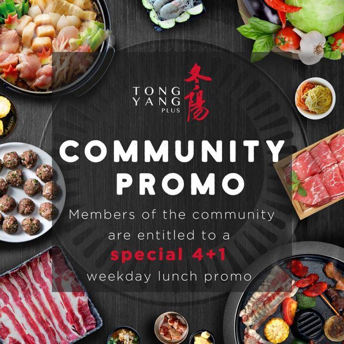 Tong Yang Community Promo