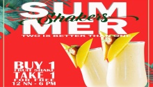 VIP Hotel Buy 1 Take 1 Summer Shakes FI