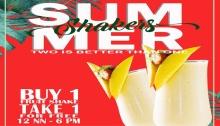 VIP Hotel Buy 1 Take 1 Summer Shakes FI