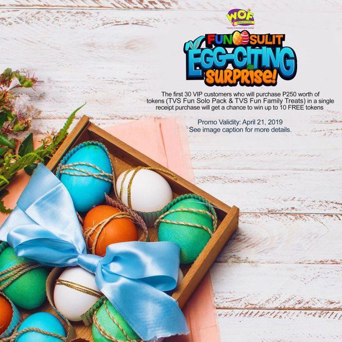World of FunSulit Egg-citing Surprise